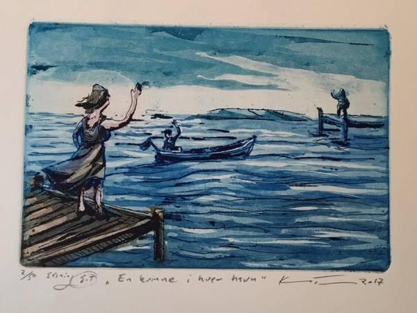 Bilde av Kristian Finborud - En kvinne i hver havn